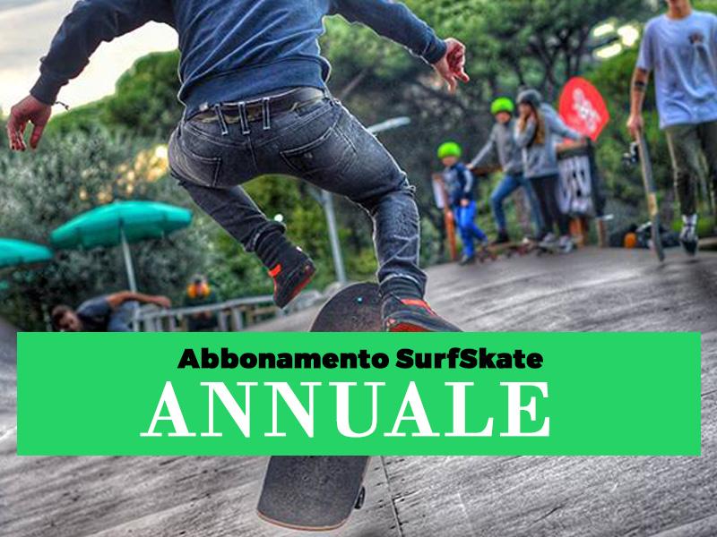 Abbonamento annuale SurfSkate