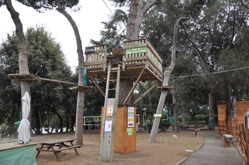 Casa sull'albero roma eur